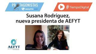 Susana Rodríguez, nueva presidenta de AEFYT