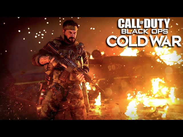 Call Of Duty Black Ops Cold War Reveal Trailer Youtube