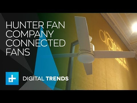 Hunter Fan Company Connected Fans – Interview at CES 2018