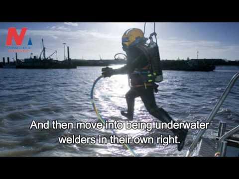 Underwater Welding Mechanism Training Requirements Getting The Job Dangers And Salary Youtube