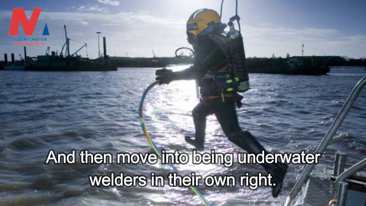 Underwater Welding Mechanism Training Requirements Getting The Job Dangers And Salary Youtube