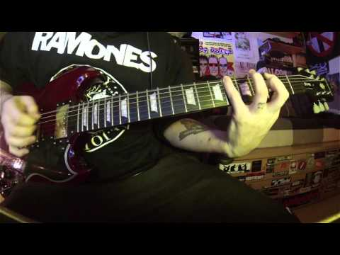Blondie - Hanging On The Telephone (guitar cover)