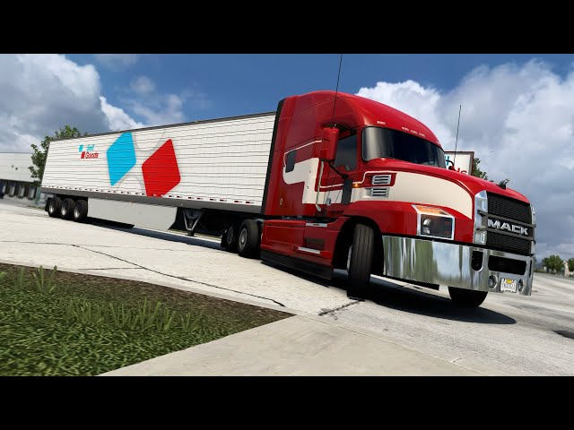 American Truck Simulator - I got a story to tell while hauling some HEAVY equipment