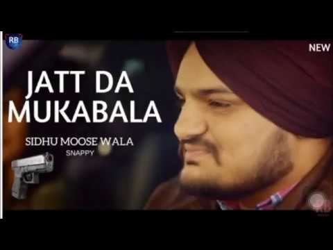 Jatt da Muqabla - Sidhu Moosewala   Snappy   latest punjabi song 2018