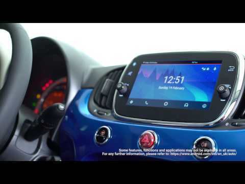 Fiat 500 Mirror - Music - Android Auto