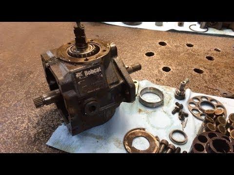 Bobcat Hydraulic Pump Motor Repair or Replacement - YouTube