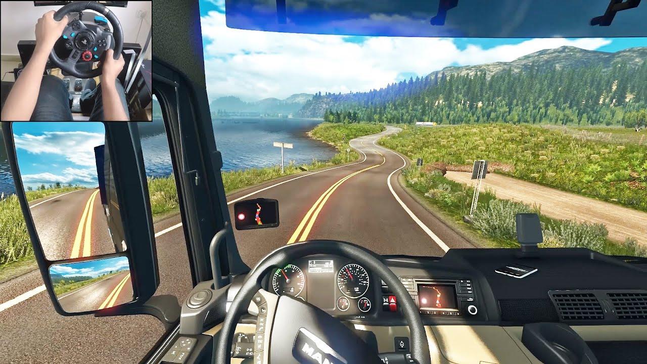 Man TGX Euro 6 - Euro Truck Simulator 2 | Logitech g29 gameplay ...