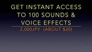 This is part of 【100 Sound Effects Pack for DJ MIX】(DJEFFECT56