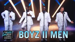End of the Show w/ Boyz II Men