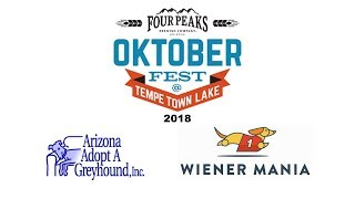 Four Peaks Octoberfest - Wiener Mania Dog Races 2018