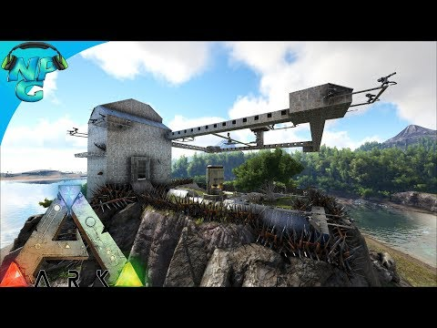 World War ARK - Raiding the Floating Base Filled with Pegos 2 Men 1 Base! E18 ARK Survival Evolved!