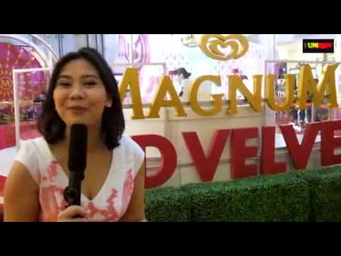 INDONEWS INTERVIEW BRAND MANAGER MAGNUM ABOUT MAGNUM RED VELVET & PLAYGROUND AT GANCIT 2017