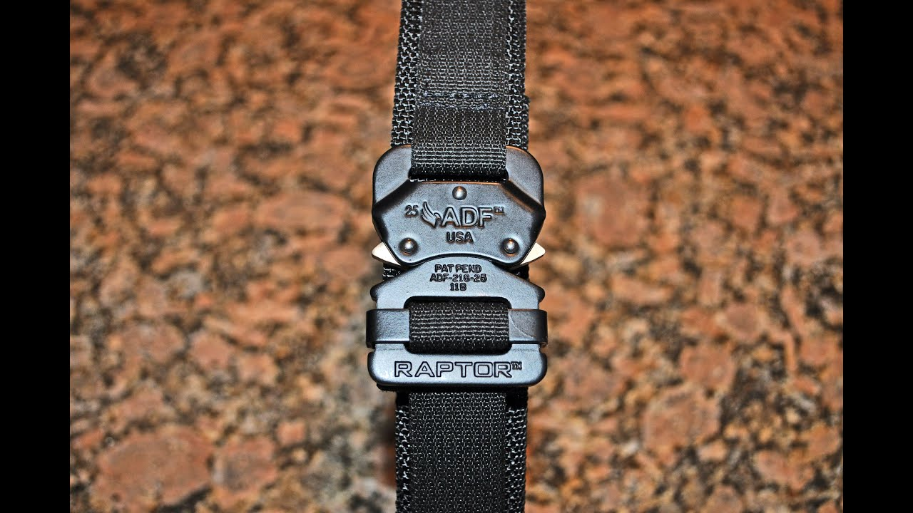 Gear Review: Brown Coat Tactical EDC Belt - The Truth About Guns