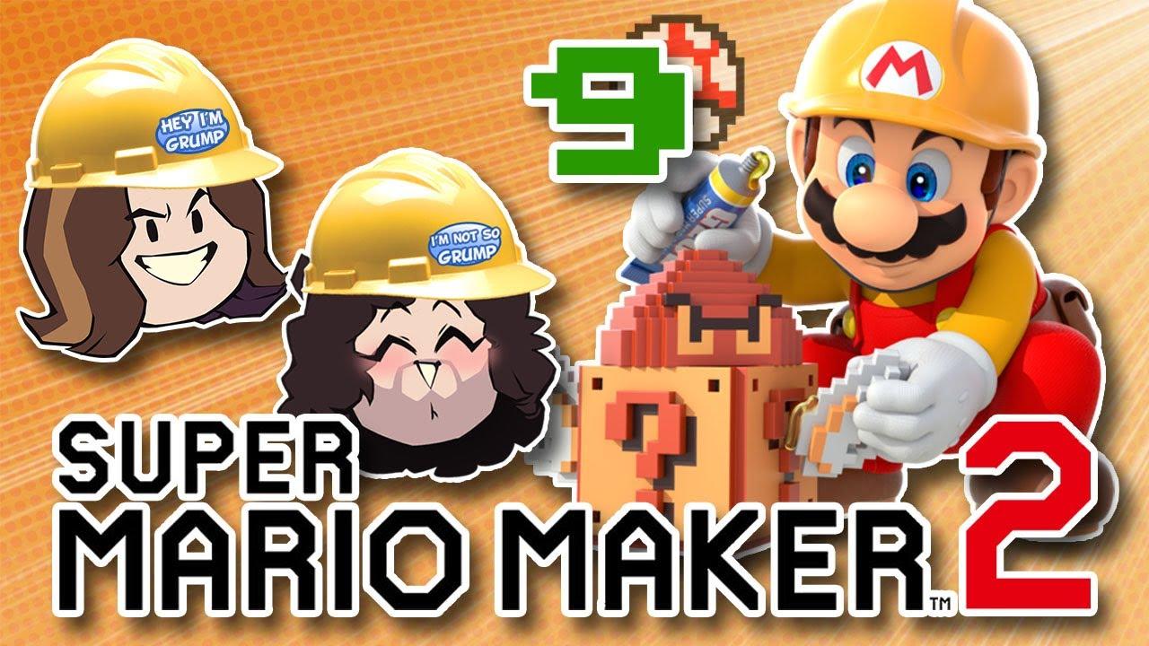 Super Mario Maker 2 - 9 - Ein letzter Versuch in dieser Situation + video