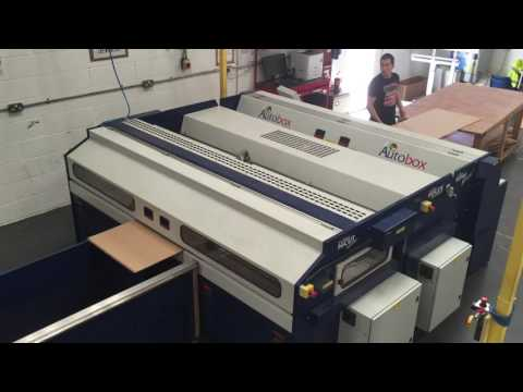 AutoBOX Slotter Most Advanced Boxmaking Machine - L V B Packaging Ltd UK