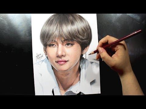 Drawing V 김태형 - [BTS] [방탄소년단] DNA