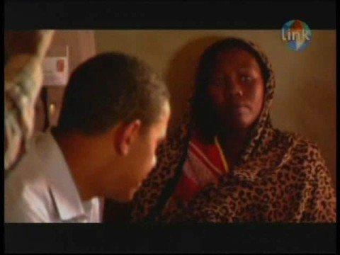 Obama Visits Darfur Border