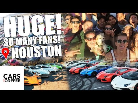 I Went To Cars & Coffee In Houston Texas & It Was F*cking INSANE!!!!!!!!
