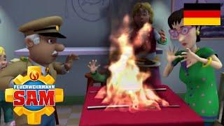 Feuerwehrmann Sam Deutsch Neue Folgen | Das Restaurant brennt | Zeichentrick für Kinder