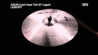 "20"" Crash Paper Thin Legend video"