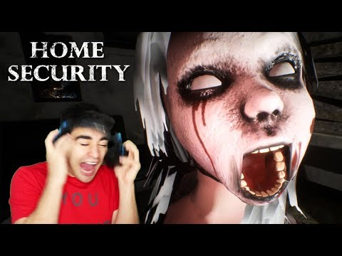 THAT GIRL'S JUMPSCARE ALMOST ENDED MY LIFE!!! – Home Security (Night 1)