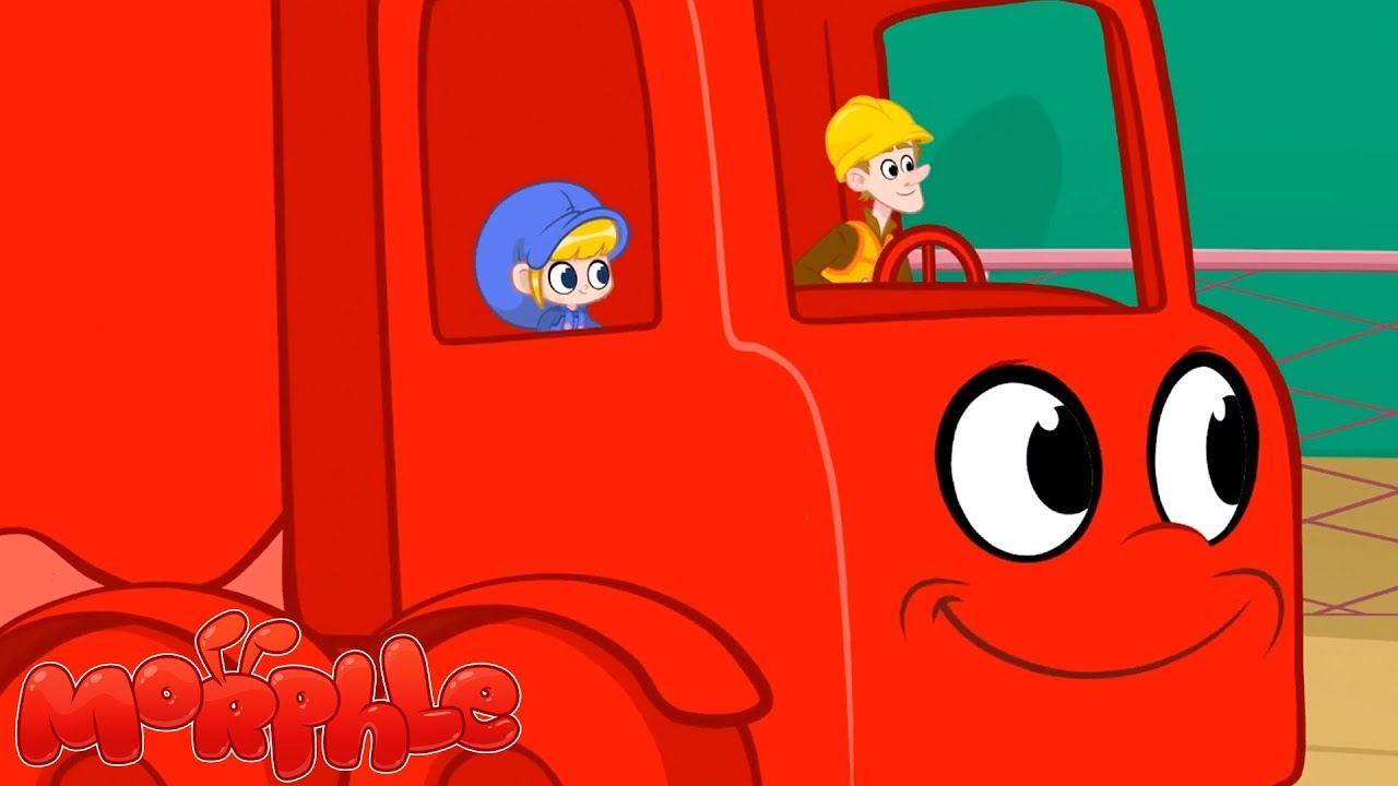 My Big Red Truck - My Magic Pet Morphle | Kids Videos | Cartoons For Kids | ABCs and 123s