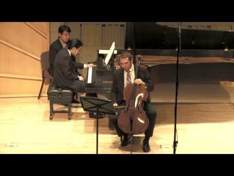 Dmitri Shostakovich Cello Sonata IV  Allegro   Omega Ensemble