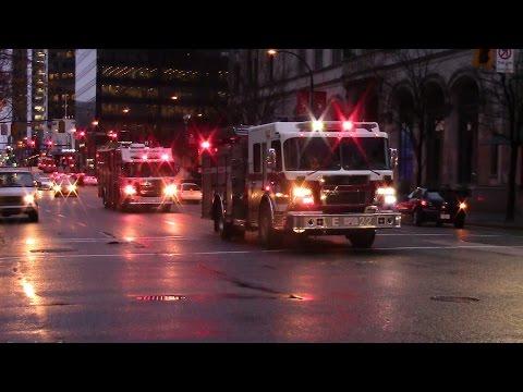 Vancouver Fire Hazmat Response - 1111 West Georgia St