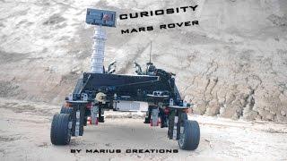 Curiosity Mars Rover using LEGO MINDSTORMS EV3