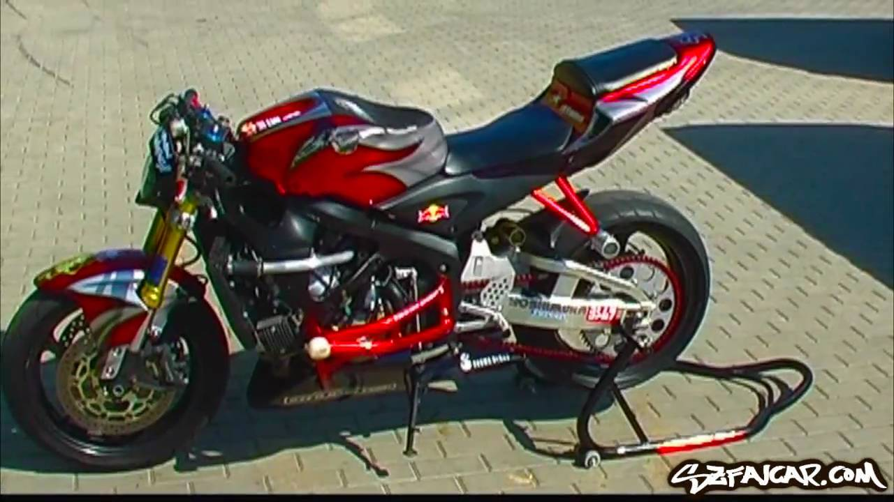 Przebudowa Stunt Transformation Honda Cbr 600rr By