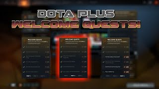 Dota 2 | Dota Plus Welcome Quests Part 2 | How To Complete Them