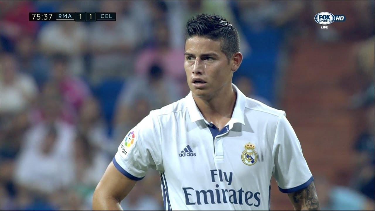 James Rodriguez vs Celta Vigo (H) - 16/17 HD by JamesR10 ...