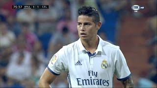 James Rodriguez vs Celta Vigo (H) - 16/17 HD by JamesR10™