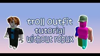 Come fare Roblox Troll Outfit! Parte 2! (Senza Robux)