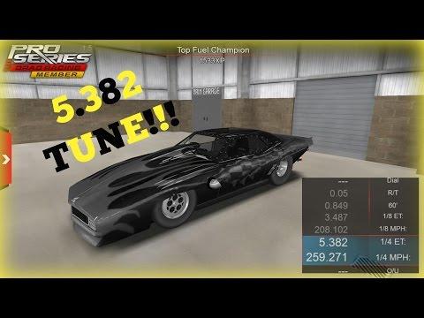 Twin Turbo Camaro - Promod 5.382 Tune - Pro Series Drag Racing