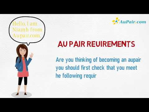Requirements For Being An Au Pair