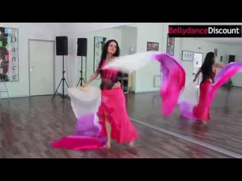 Danse orientale avec les éventails : Vidéo Tuto + Démo