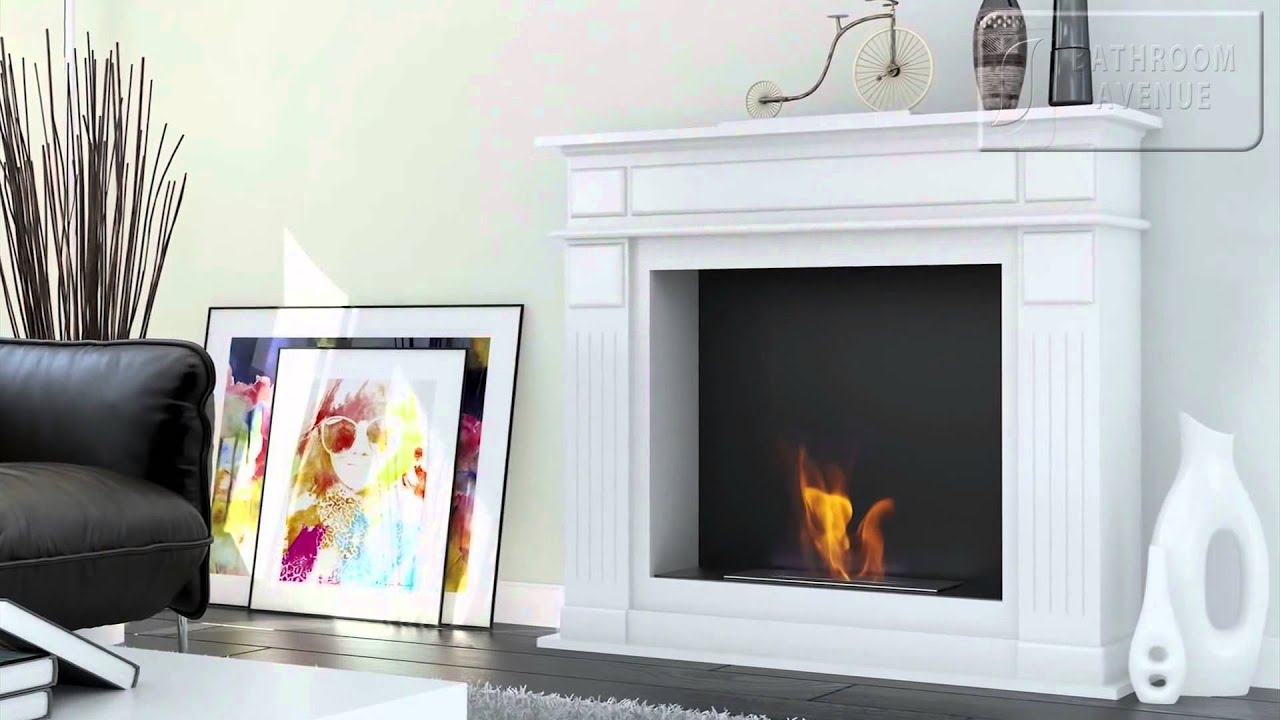 Bespoke bioethanol fireplace biofuel fires by Bathroom Avenue  YouTube