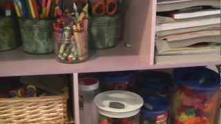 Organizing Tip of the Day- Help you Kids Play Independently through Organization