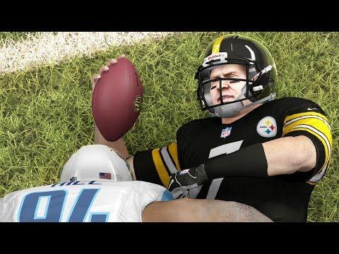 NFL Playoffs 2014 Wild Card Weekend Madness Recap - Madden 25 Online Gameplay (Titans Vs Steelers)