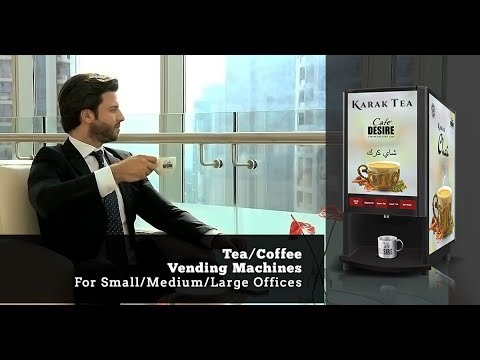 Cafe Desire Coffee And Tea Vending Machine Global Youtube