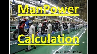 Manpower Calculation | Manpower Calculation by Takt time