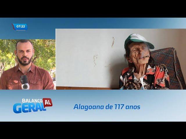 Aos 117 anos, alagoana pode ser considerada a mulher mais velha do mundo