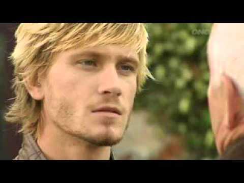 Emmerdale - David Metcalfe punches Eric Pollard (2006)