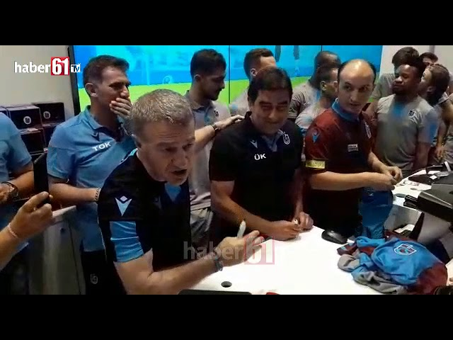 Futbolculardan Trabzonspor'a formalı destek