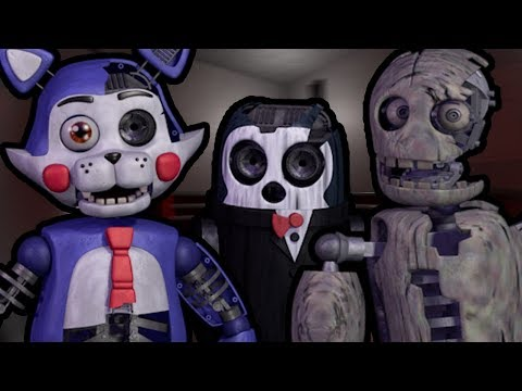 CANDY PLAYS: Five Nights At Candy's 2 Playable Animatronics (Pt 1) || PLAY AS CANDY AND THE GANG!!!