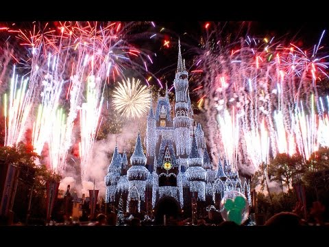 New Year 2015 - Fireworks 2015 - The Magic Kingdom Hd ...