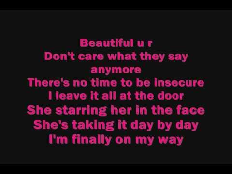 Deborah Cox- Beautiful U R (Lyrics)