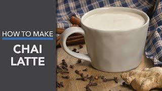 Chai Tea Latte Recipe (Caffeine-Free, Paleo & Vegan!)