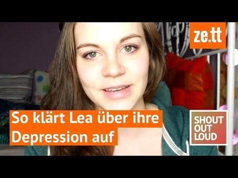 """Shout out loud: """"Mir wurde vorgeworfen, ich sei faul"""" –  so klärt Lea über ihre Depression auf"""